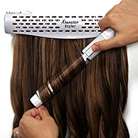 Hair Extension Holder and Hanger – Professional Hair Styling Tool and Extension Caddy for Washing, Coloring and Blow…