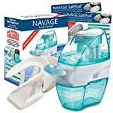 Navage Nasal Irrigation Starter Bundle: Naväge Nose Cleaner, 60 SaltPod Capsules, and Countertop Caddy. $122.85 if purchased separately; you save $22.90 (19%)
