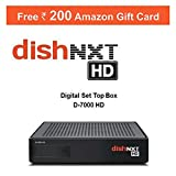 Dish TV HD Set Top Box with Annual Populer HD Club (One Year Pack) EMI Offer & 200 Amazon Voucher