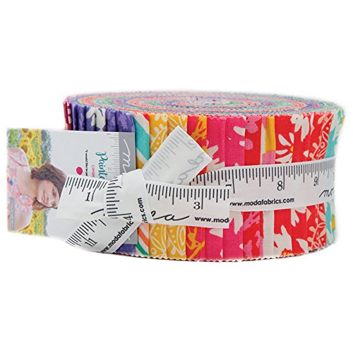 Crystal Manning Painted Garden Jelly Roll 40 2.5-inch Strips Moda Fabrics 11810JR by MODA