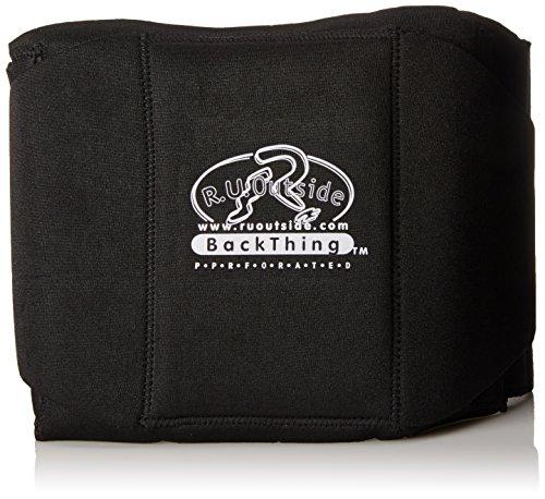 - R.U.Outside Perforated Backthing, Medium/Waist 30-35-Inch, Black