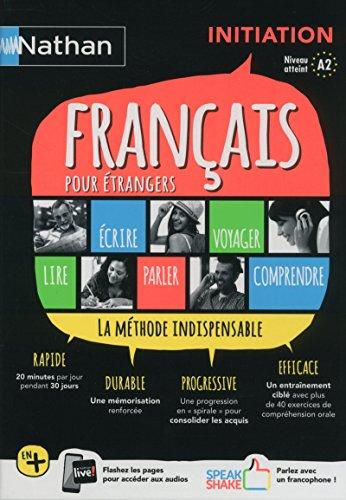 COFFRET FRANCAIS POUR ETRANGERS - INITIATION (VOIE EXPRESS) LIVRE+LIVRET COMPREHENSION ORALE - 2018