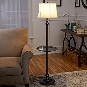 Better Homes And Gardens Floor Lamp With Tray Black