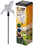 Headwind Consumer Products 830-1305 Solar Stake Light Color Changing Hummingbird