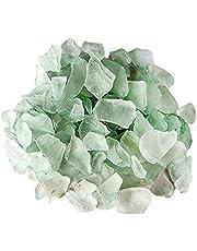 Galapagos 05133 Sea Glass for Aquarium, 4 lb, Sage Green