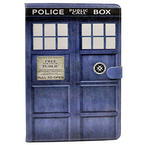 iPad PRO 11-inch Case, Doctor Who Tardis Design Leather Flip Stand Case Cover for Apple iPad Pro 11 Inch 2018 Release
