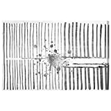 The Oliver Gal Artist Co. ''Love Force Field Silver'' Canvas Art, 36'' x 24''