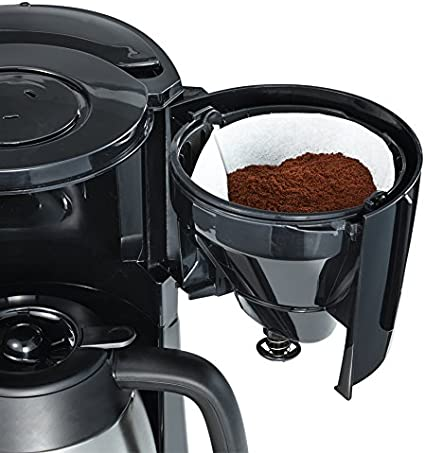 AmazonBasics - Cafetera de goteo (1000 W, 8 tazas, jarra ...