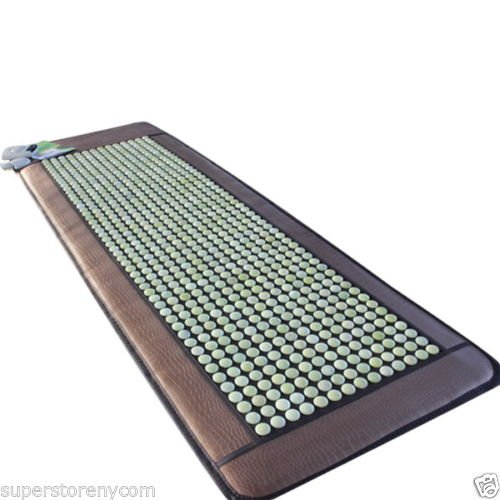 HealthyLine Natural Jade Stones Mat/Mattress Negative Ions H