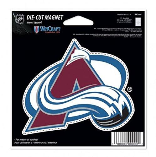 WinCraft NHL Colorado Avalanche Color 4.5 x 6 Die Cut Magnet
