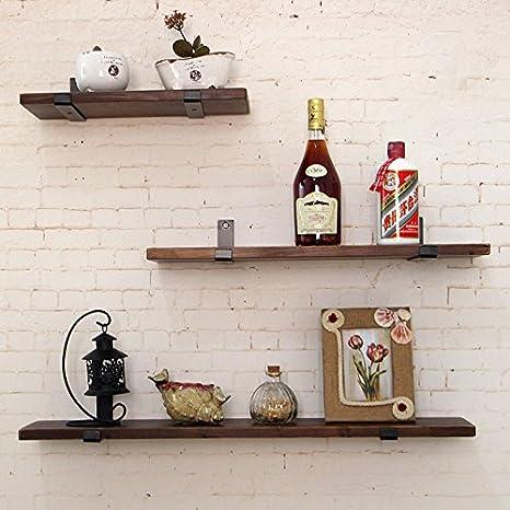 TAO Scaffale per mensola da cucina Libreria in legno massello Staffa ...