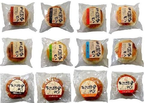 天然酵母パン 12個セットの商品画像