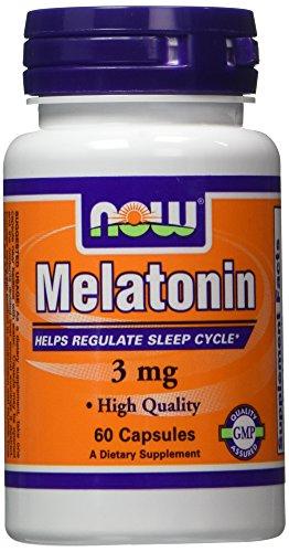 NOW Food Melatonin 60 Capsules