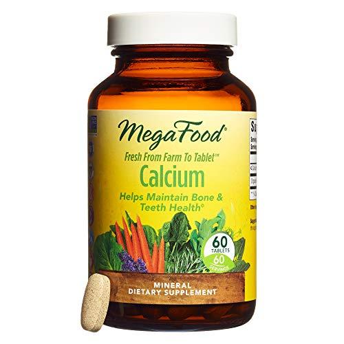 MegaFood - Calcium, Supports Healthy Bones & Teeth, 60 Tablets