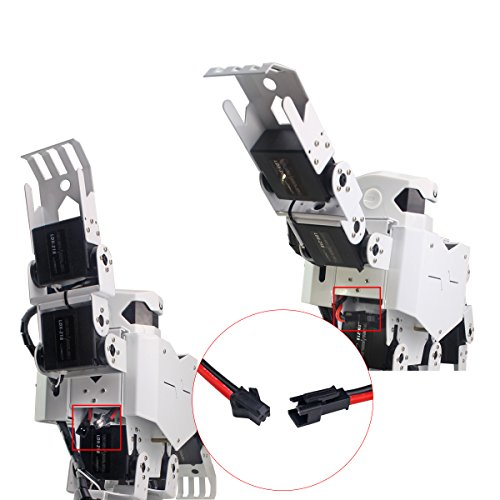 LewanSoul H3S 16DOF Biped Humanoid Robot Kit with Free APP, MP3 Module, Detailed Video Tutorial Support Sing Dance(Assembled) by LewanSoul (Image #6)
