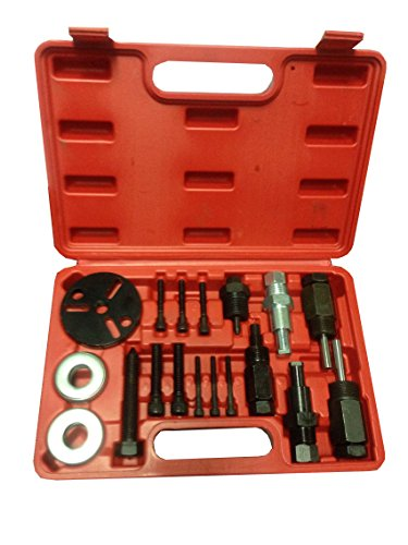- PMD Products 18pc A/C Deluxe Automotive Compressor Clutch Hub Remover Installer Puller Tool Air Conditioner AC