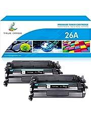 $36 » True Image Compatible Toner Cartridge Replacement for HP 26A CF226A 26X CF226X Toner for HP Laserjet Pro M402n M402dn M402d M402dw HP Laserjet Pro MFP M426fdw M426fdn M402 M426dw Toner Printer Ink