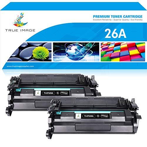 True Image Compatible Toner Cartridge Replacement for HP 26A CF226A 26X CF226X Toner for HP Laserjet Pro M402n M402dn M402d M402dw HP Laserjet Pro MFP M426fdw M426fdn M402 M426dw Toner Printer Ink