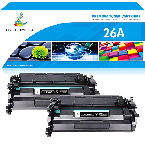 True Image Compatible Toner Cartridge Replacement for HP 26A CF226A 26X CF226X Toner for HP Laserjet Pro M402n M402dn M402d M402dw HP Laserjet Pro MFP M426fdw M426fdn M402 M426dw Toner Printer Ink ()