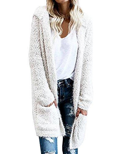 White Hooded Fleece - 6