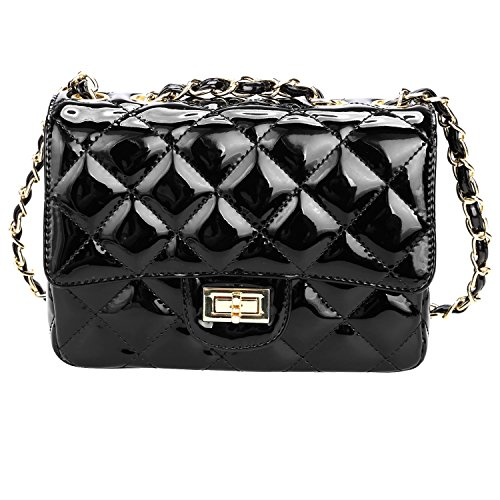 HOTOUCH New Women's PU Leather Cross-body Chain Purse Mini Wallet Clutch Handbag Shoulder Bags