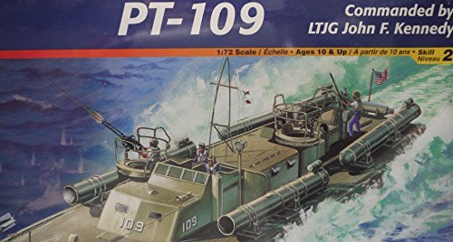 (Pt-109 Pt Boat 1/72nd Scale Glue And Paint Model Kit )