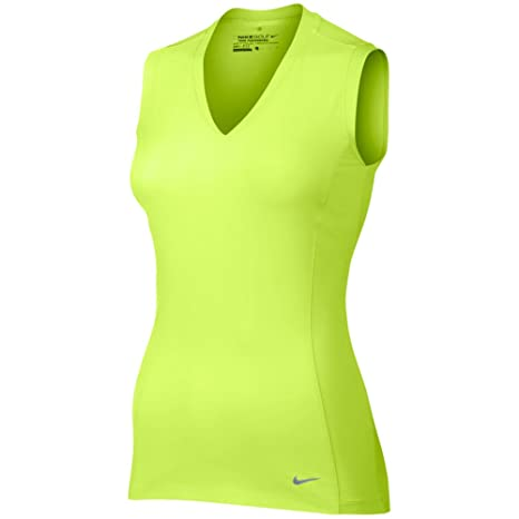 Amazon.com  Nike Women s Tour Mesh Sleeveless Polo (Large