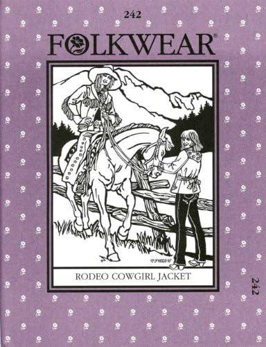 Folkwear Rodeo Cowgirl Jacket #242 Western Coat Sewing Pattern folkwear242