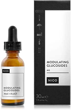 'NIOD' Modulating Glucosides Serum 30ml,a concentrated formula that targets signs of skin sensitivity, discomfort and irritation.