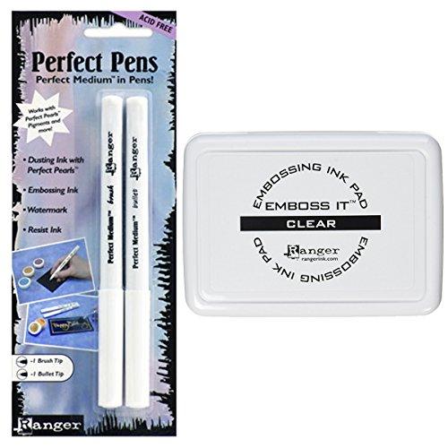 Pearls Embossing Ranger (Ranger Heat Embossing Ink Pad and Pen Bundle (Bundle: Pad/Pen))