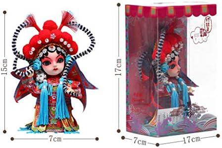 ZGF Peking Opera Dolls Souvenirs - Máscara de ópera de Pekín, Estilo Chino: Amazon.es: Hogar