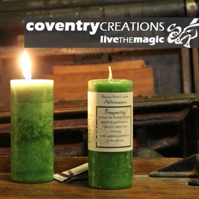 Affirmations - Prosperity Candle (Prosperity Candle)