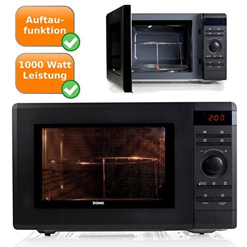 Microondas con grill 1500 W, 36 litros de capacidad, con plato giratorio, 8 programas de cocción, 5 diferentes Microondas de servicios, cierre de seguridad, ...