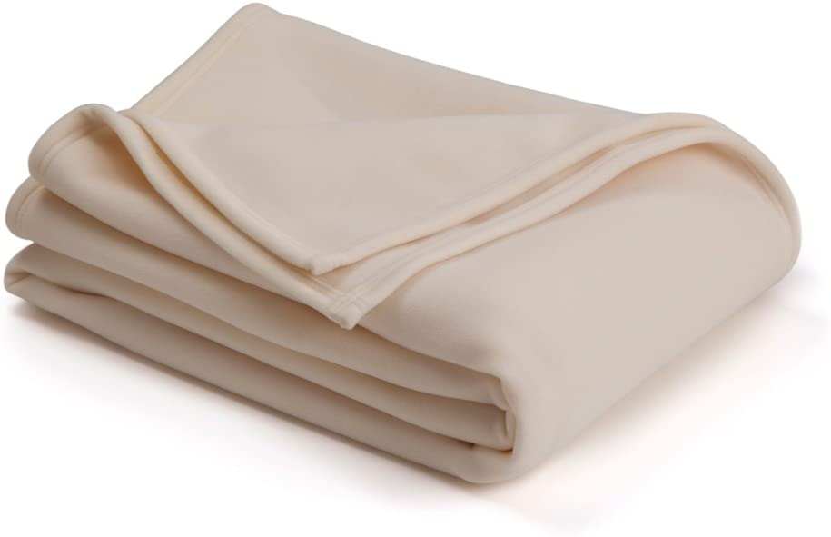 Vellux Original Blanket Ivory Queen (Case of 4)