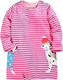 #8: Fiream Girls Cotton Long Sleeve Dress