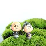 Generic Old Granny/Fairy Garden gnome Animals/Moss Terrarium Home Desktop Decor/Crafts/Bonsai/Doll House/Miniatures/ DIY