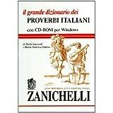 img - for Il grande dizionario dei proverbi italiani. Con CD-ROM book / textbook / text book