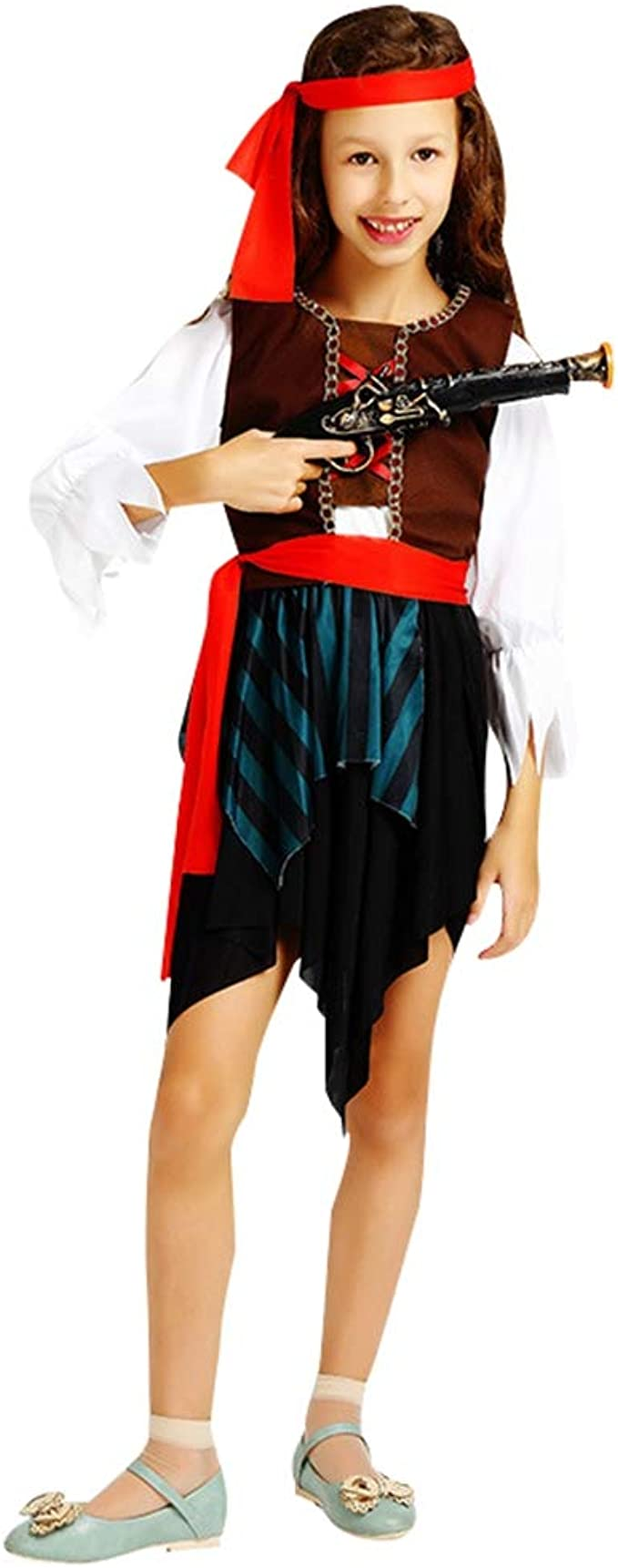 Jitong Disfraz de Pirata para Niños - Trajes Halloween de Cosplay ...