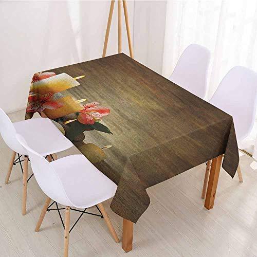 ScottDecor Christmas Tablecloth Table Cover W 52
