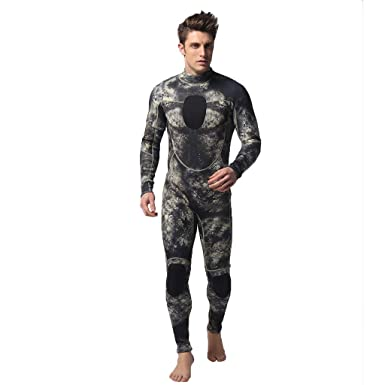 58b9b1554a CapsA Wetsuit for Men 3MM Full Body Suit Super Stretch Diving Suit Swim  Snorkeling Surfing Suit