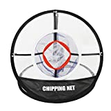 MIFXIN Golf Chipping Net 20'' Golf Training Net Portable Foldable Golf Practice Target Net Hitting Net Indoor Outdoor Carrying Bag