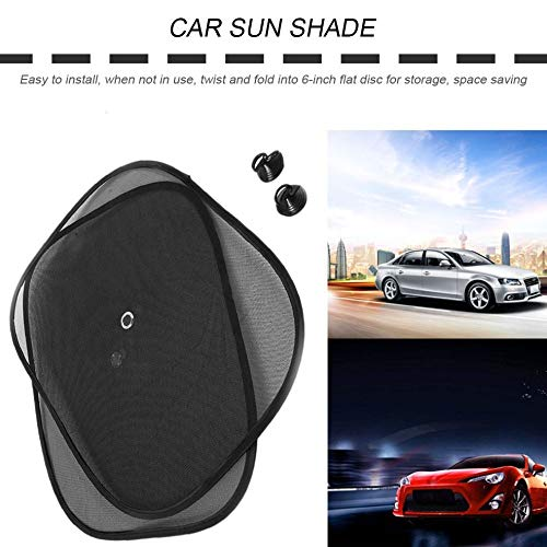 Lesiey Universal Auto Car Front Side Side Window Parasol Sun Shade Sun Cubierta de la Sombra Reflectante para SUV Accesorios del Coche