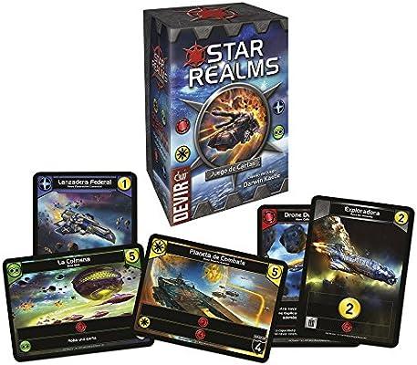 Devir- Star Realms, Juego de Mesa en Castellano, Miscelanea ...