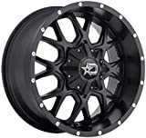 Dropstars 645B Wheel with Black Finish (18x9''/6x5.5'', -12mm Offset)