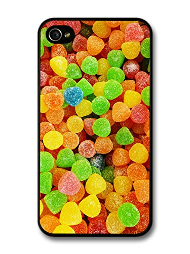 Cool Food Pattern Collage with Candy Sweets Funny Gross Grunge Goth case for iPhone 4 4S