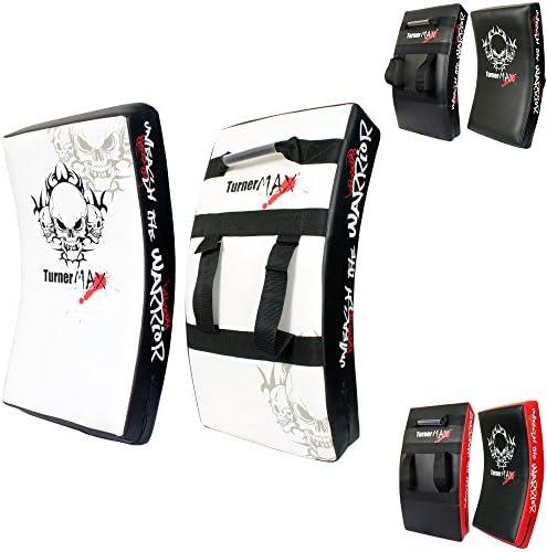TurnerMAX Box-Schlagpolster, Stanzen Pad für MMA, Kickboxen, Karate
