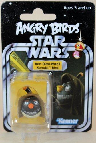 Sdcc Star (2013 SDCC Hasbro Exclusive Star War Angry Birds Ben Obi-Wan Kenobi Bird - Carded)