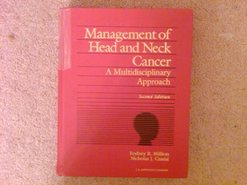 Management of Head and Neck Cancer: A Multidisciplinary Approach