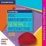 img - for Cambridge HSC Mathematics General 2 Interactive Textbook book / textbook / text book