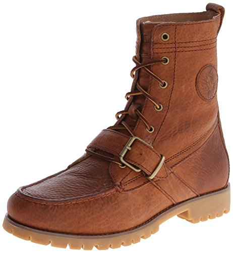 Polo Ralph Lauren Men's Ranger Boot,Tan,9 D - Polo Men Ralph Lauren Boots